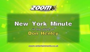 Zoom Karaoke - New York Minute - Don Henley