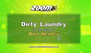 Zoom Karaoke - Dirty Laundry - Don Henley