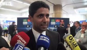 "Ligue des champions / Al-Khelaifi: ""On respecte beaucoup Barcelone"" 28/08"