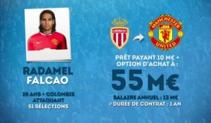 Officiel : Radamel Falcao file en prêt payant à Man Utd !