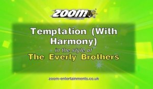 Zoom Karaoke - Temptation (With Harmony) - The Everly Brothers