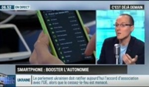 La chronique d'Anthony Morel : comment booster l'autonomie de son smartphone ? - 16/09