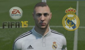 FIFA 15 : les visages du Real Madrid en HD !