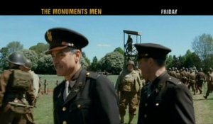 The Monuments men - Teaser (VO)