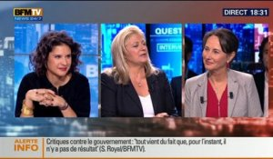 BFM Politique: L'interview BFM Business de Ségolène Royal par Hedwige Chevrillon (2/5) - 19/10