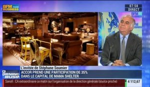 Accor s'offre 35% du capital du groupe Mama Shelter: Serge Trigano - 29/10