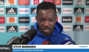 "Football / Ligue 1 / Mandanda : ""C'est un succès important"" - 02/11"