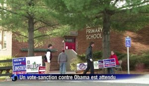 Elections de mi-mandat aux Etats-Unis: vers un vote-sanction contre Obama