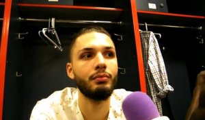 Interview Evan Fournier - Orlando Magic - November 15 2014