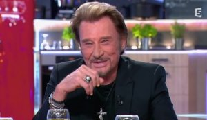 Johnny Hallyday vu par Laurent Gerra - C à vous - 21/11/2014
