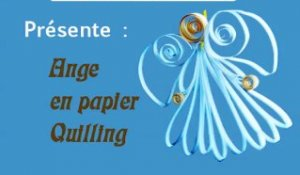 ange papier quiling