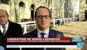 "Les conditions de détention de Serge Lazarevic ""ont été difficiles"""