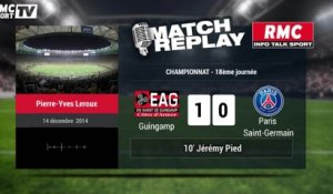 Guingamp-PSG (1-0) : le Match Replay avec le son de RMC Sport