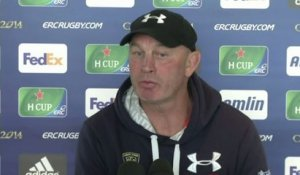 RUGBY - CE - ASM - Cotter : «Leicester est favori»