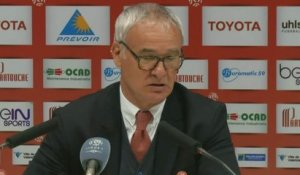 FOOT - L1 - ASM - Ranieri : «Je remercie nos supporters»