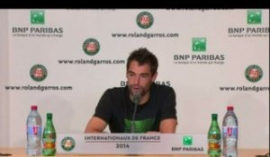 TENNIS - RG - Chardy : «Pas grand chose à faire»