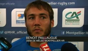 RUGBY - TOP 14 - MHR - Paillaugue : «on retiendra les 4 points»