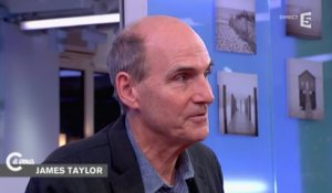 L'interview de James Taylor - C à vous - 14/01/2015
