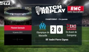 OM-EAG (2-1) : le Match Replay avec le son de RMC Sport