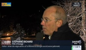 Stéphane Richard, PDG d'Orange (1/2) - 22/01