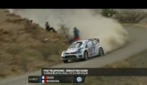 Rallye - WRC : Ogier, «Un week-end parfait»