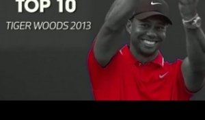 GOLF : Le Top 10 de Tiger