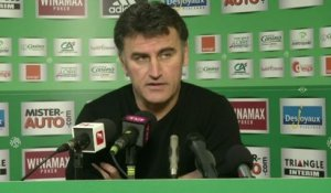 ASSE - Galtier :«On a su faire le dos rond»