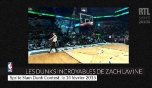 All-Star Game NBA : les dunks époustouflants de Zach Lavine