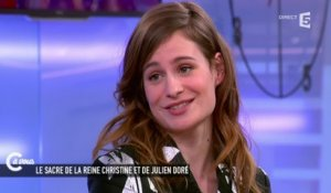 "Christine and the Queens à Madonna ""keep on being the Queen"" - C à vous - 16/02/2015"