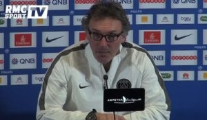 "Football / Blanc : ""On a un effectif limité"" 03/03"