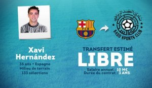 Officiel : Xavi rejoint le Qatar