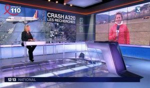 Les recherches s'intensifient sur la zone du crash de l'A320 de la Germanwings