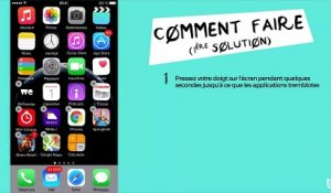 iPhone 6 : comment supprimer une application iOS 8 ?