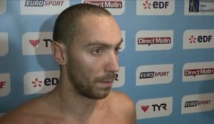 Natation - ChF (H) - 100m NL : Stravius «Je m'en sentais capable»