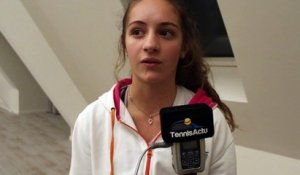 Tennis - ITF / WTA - Sophie Gerits boursière Silver de la fondation Hope and Spirit