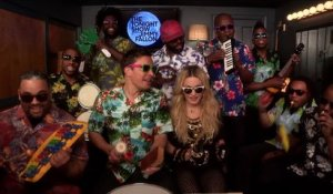 Jimmy Fallon, Madonna et The Roots revisitent Holiday