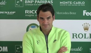 Tennis - Monte-Carlo : Roger Federer «Il a un potentiel incroyable»