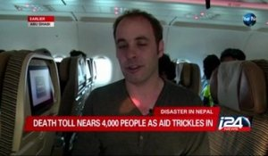 Air Traffic in Attempts to Reach Nepal