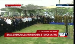 Jerusalem's official Memorial Day services