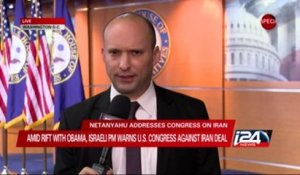 Naftali Bennett Backs Netanyahu in Congress