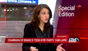 Exclusive i24news interview with Israeli Finance Minister Yair Lapid - 18/11/2014