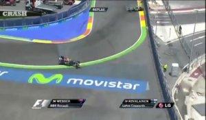 Les 15 plus gros CRASH en Formule 1 : compilation d'accidents violents!