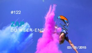 ZAP DU WEEK-END #122 : Les Simpsons version française / Holi Colors - Flysurfer Kiteboarding / Zack king prend un bain /