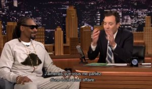 Jimmy Fallon / Snoop dogg & Willie Nelson au KFC d'Amsterdam - Emission du 15 mai sur MCM !
