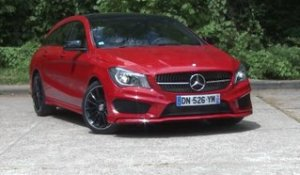 Essai Mercedes CLA Shooting Brake 200 CDI 7G-DCT Fascination 2015