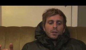 AWOLNATION interview - Aaron (part 1)