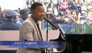 John Legend Stirs Up Traffic In The Big Apple