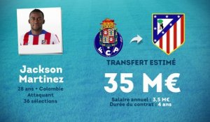 Officiel : Jackson Martinez file à l'Atlético !