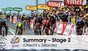 Summary - Stage 2 (Utrecht > Zélande) - Tour de France 2015