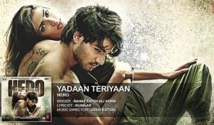 'Yadaan Teriyaan' Full HD Song - Rahat Fateh Ali Khan - Upcoming Bollywood Movie Hero - Sooraj , Athiya -